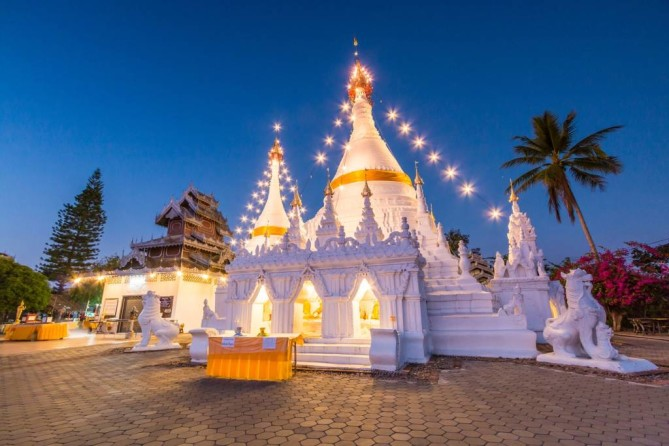 Wat Phra That Doi Kong Mu Doi Mae Ho Mae Hong Son Travel Blog