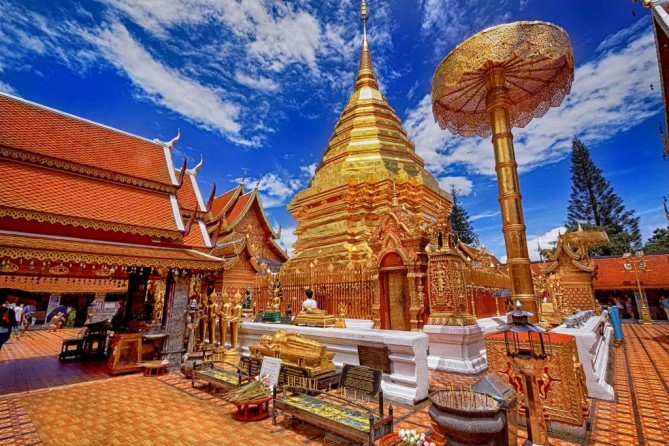 Wat Phra That Doi Suthep chiang mai travel guide