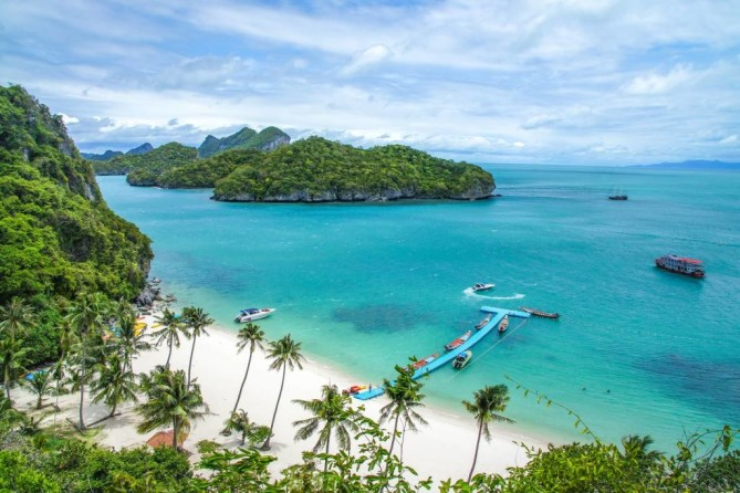 Ang Thong National Marine Park samui travel guide