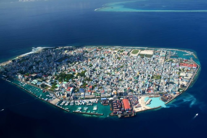 Capital City of Male maldives travel guide