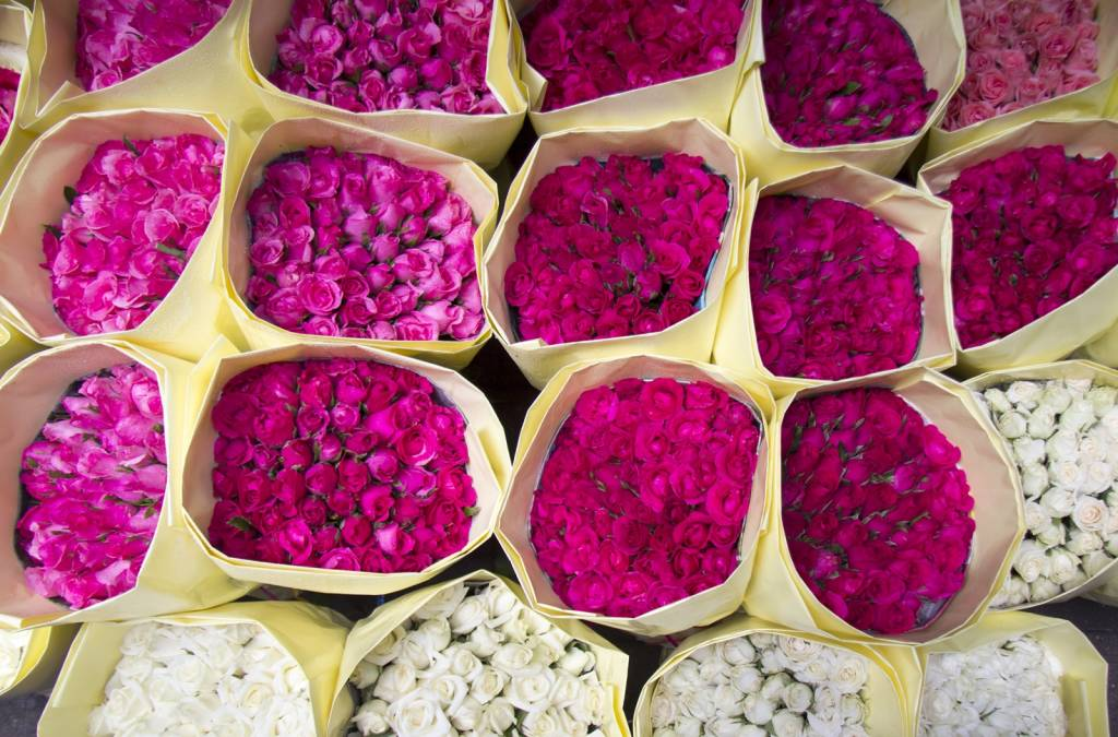 Flower market in Bangkok