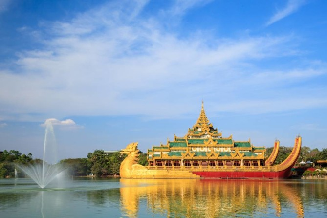 Kandawgyi Nature Park yangon travel guide