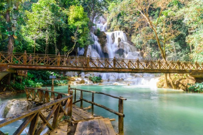Kuang Si Waterfall - Luang Prabang Travel Guide