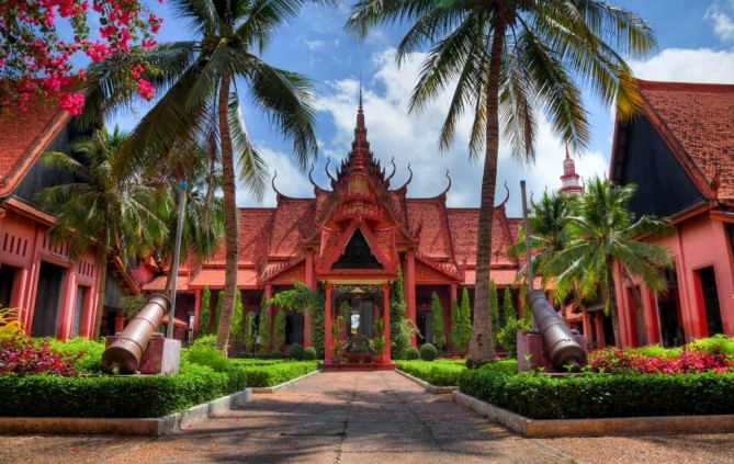 National Museum phnom penh travel guide