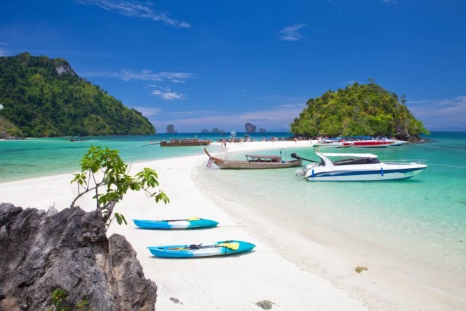 Phi Phi islands Krabi Travel Guide