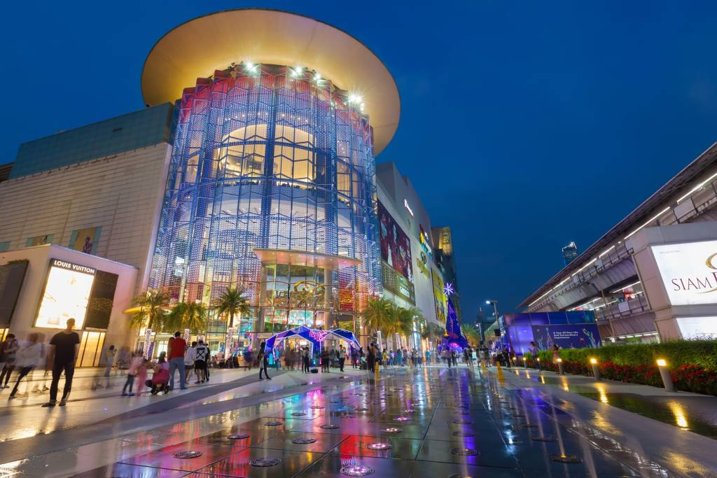 Shopping Mall in Bangkok