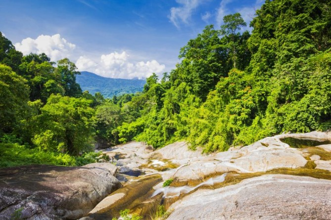 Trekking in Ramkhamhaeng National Park