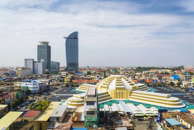 central market phnom penh travel guide