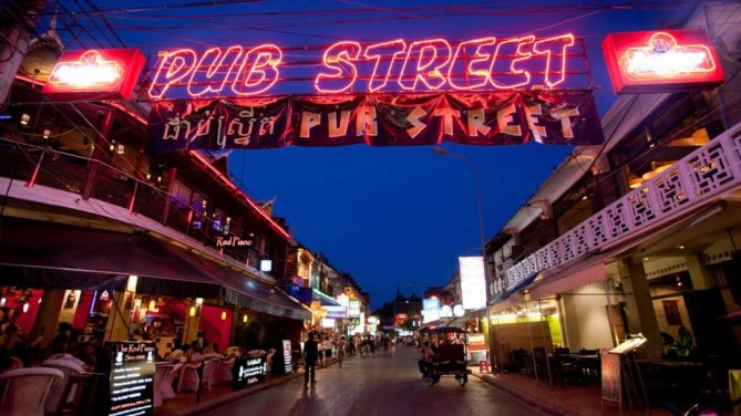 pub street siem reap travel guide