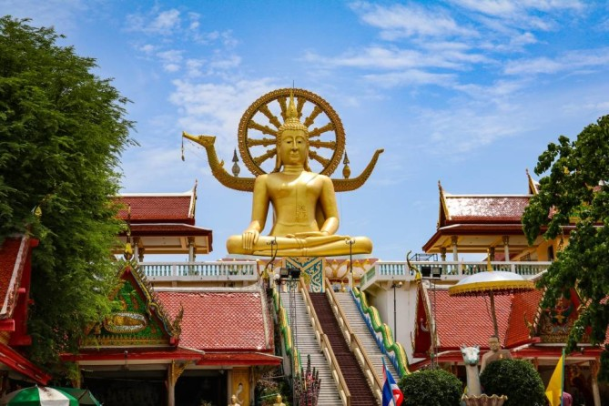 the big buddha temple wat phra yai samui travel guide