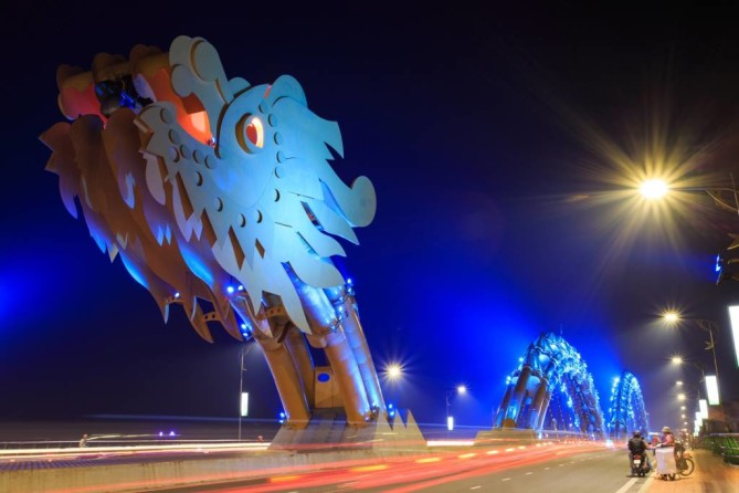Dragon Bridge Danang Travel Blog
