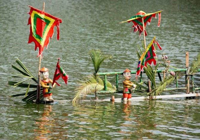 Water Puppet show in Nha Trang