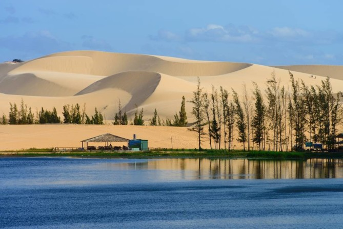 White Sand Dunes in Mui Ne