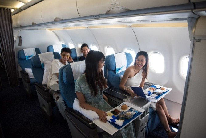 Fly Blue Ribbon class Bangkok Airways