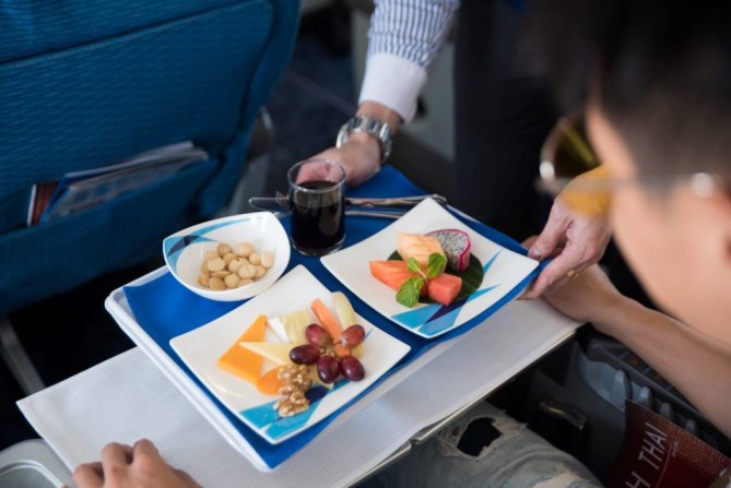 fruits on board Bangkok Airways