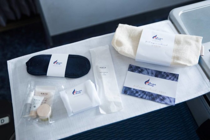 Amenities kit Bangkok Airways