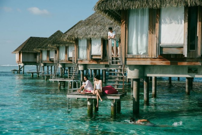 Villas at Maldives