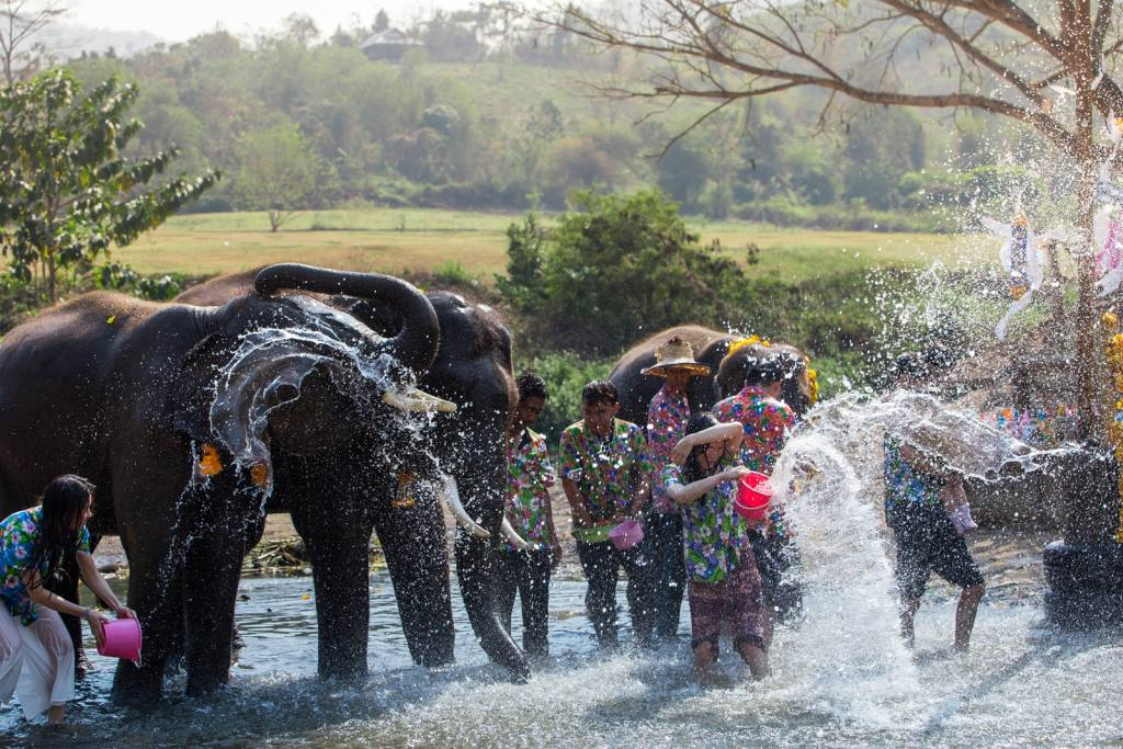 Where to celebrate Songkran Festival in Thailand?
