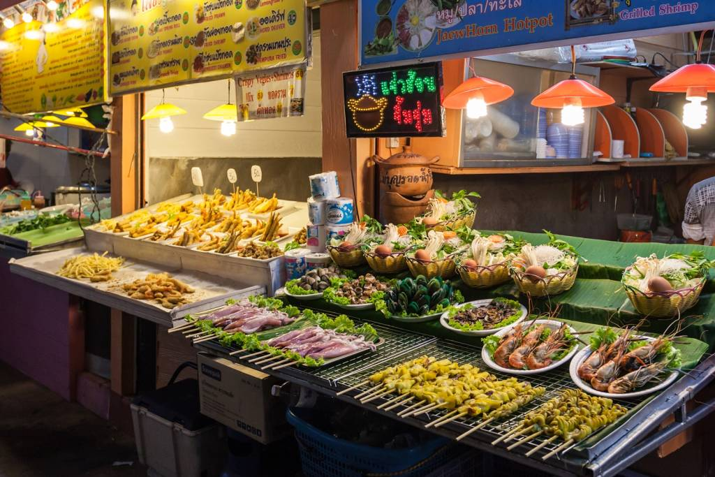 Food Stall Chiang Rai Night Market