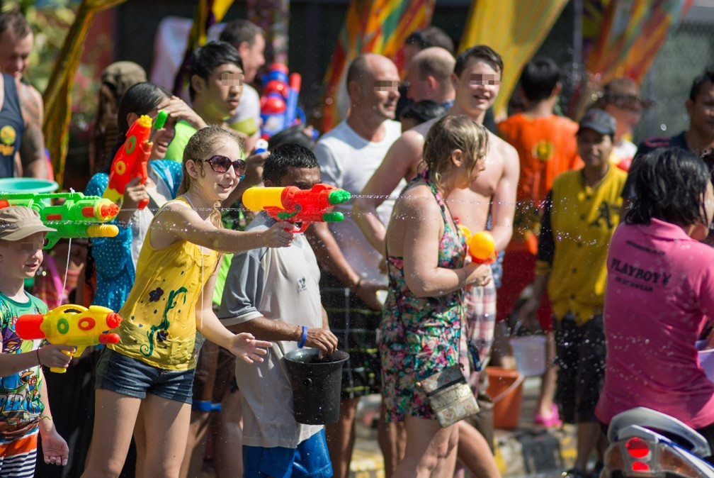Songkran in Koh Samui