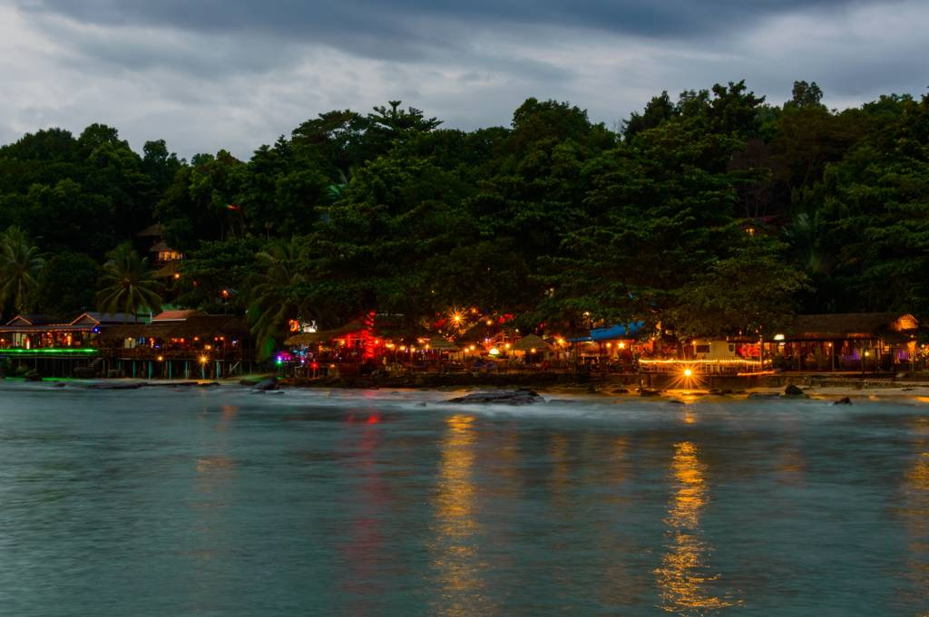 party on Koh Rong