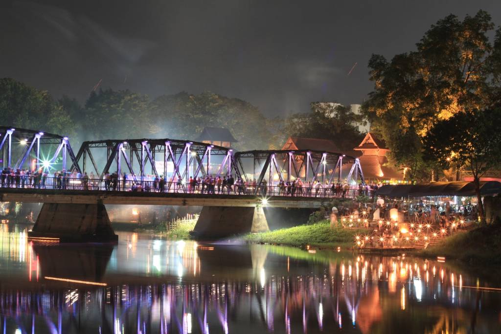 Iron Bridge Loy Krathong