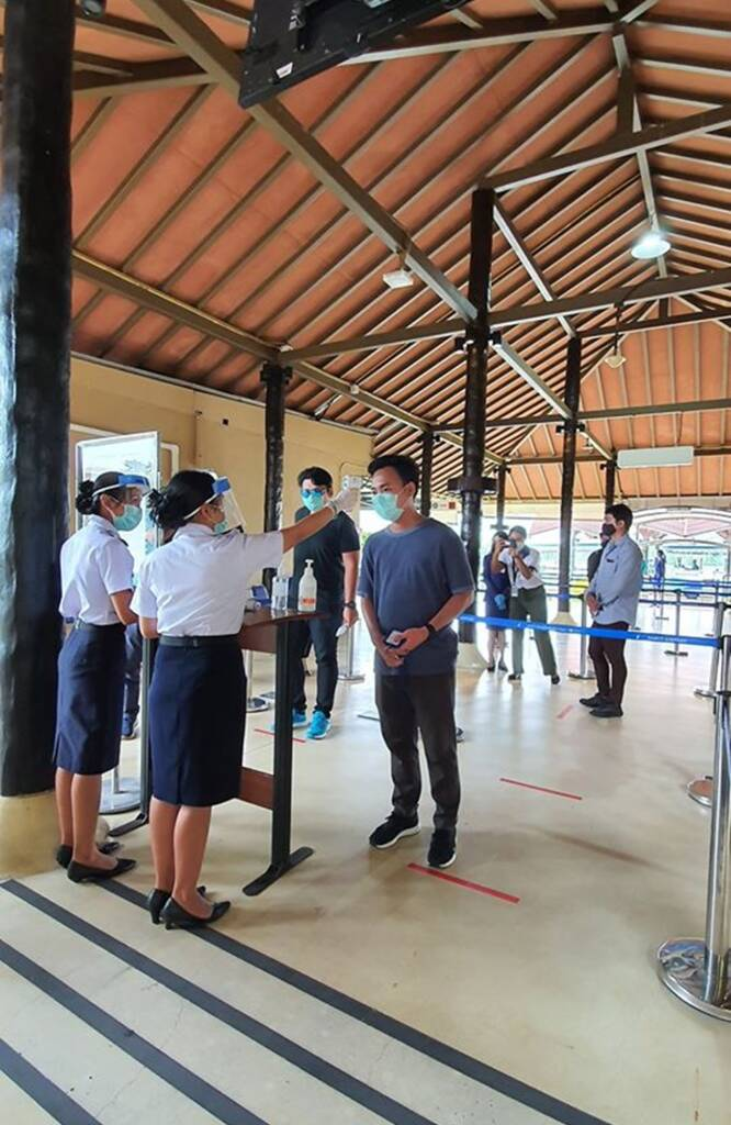 Samui Airport and its readiness in all aspects to serve passengers in need of travel
