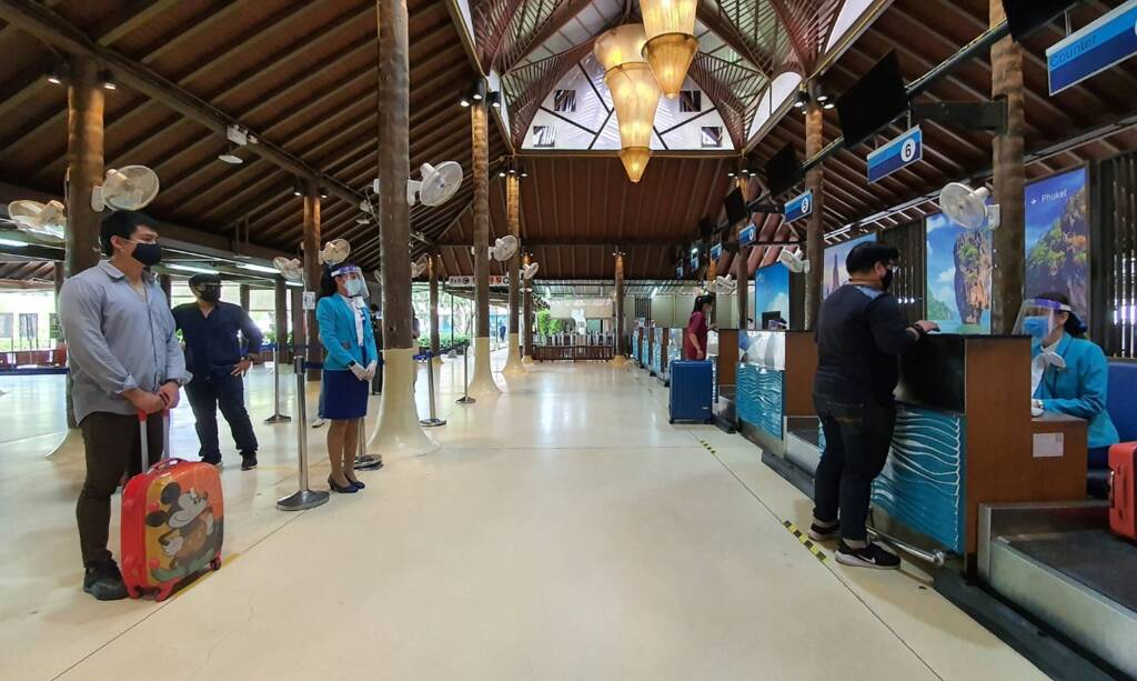 Samui Airport and its readiness in all aspects to serve passengers in need of