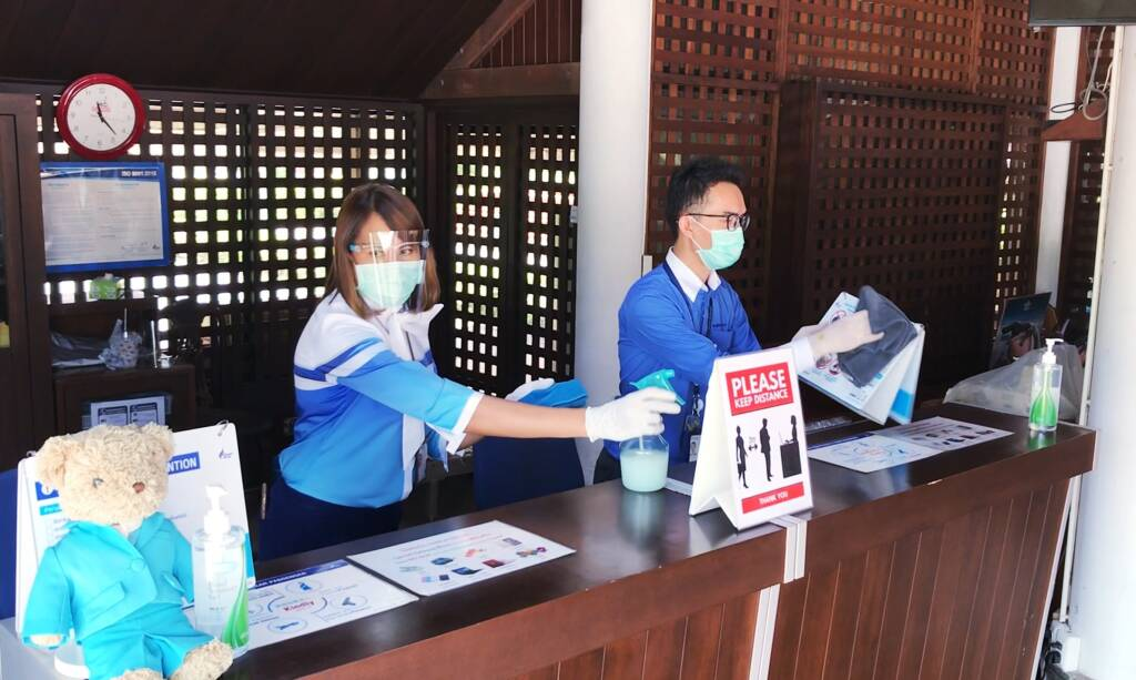 Sukhothai Airport Safety Measures: New Normal In Air Travel