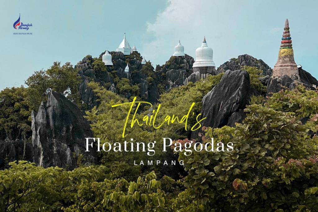 Thailand's floating pagodas